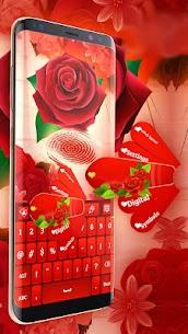 Red Rose Keyboard 2020 5