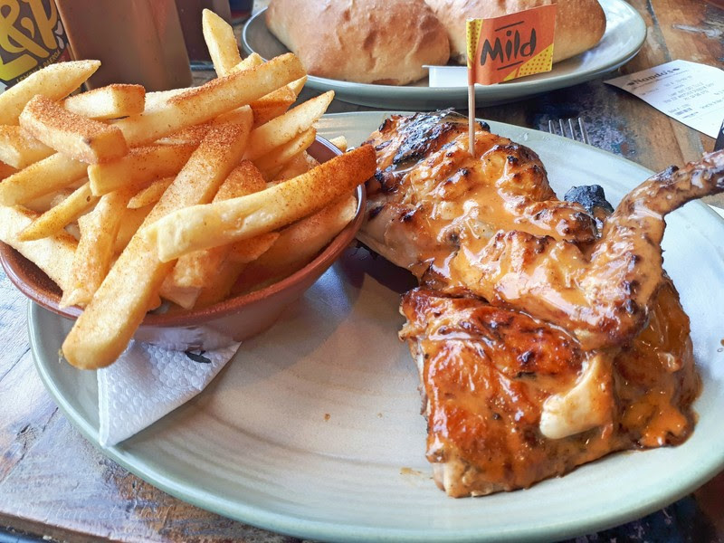 Nando's Mild with Chips