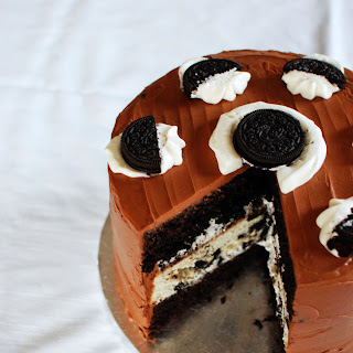 Triple Layer Oreo Cake