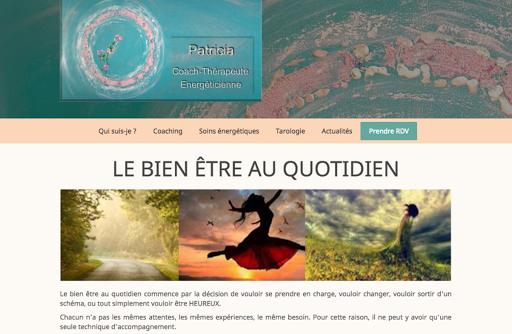 création de site internet réalisée par MHT Prestige