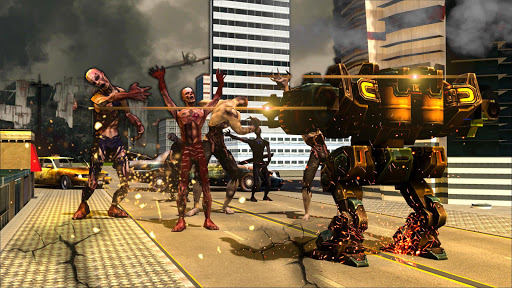 Robots vs Zombies : Rescue Human from Zombies 1.2 screenshots 2