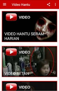 Video Hantu Serem Harian - náhled