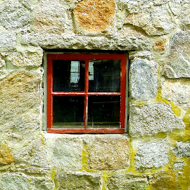 Window in  wall by Martin Stepalavich - Buildings & Architecture Architectural Detail