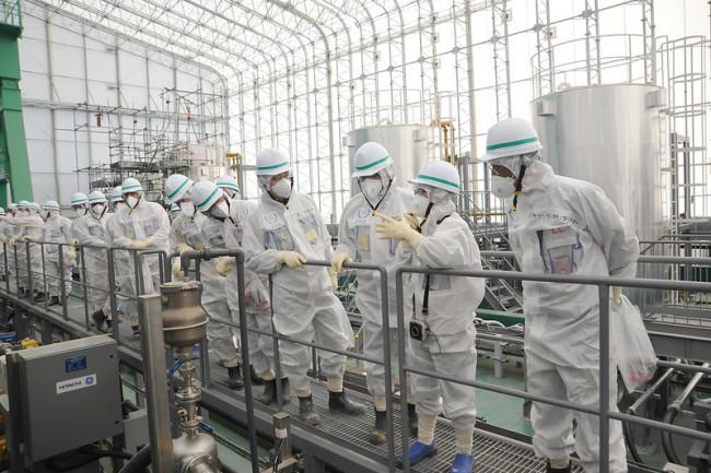 fukushia nuclear tour