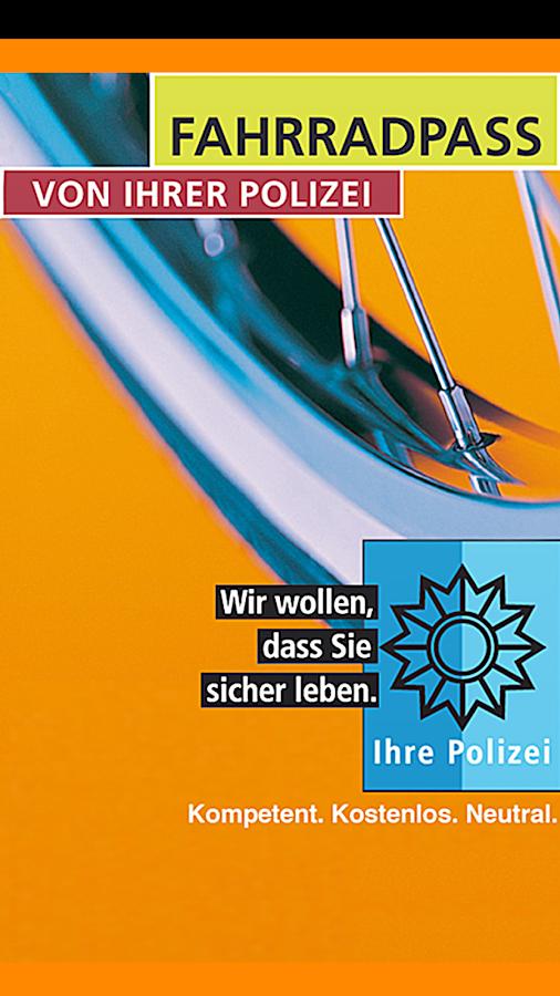 Fahrradpass- screenshot