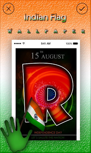 Download Indian Flag Letters Wallpaper Google Play Softwares