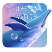 Pure Blue Dolphin Theme