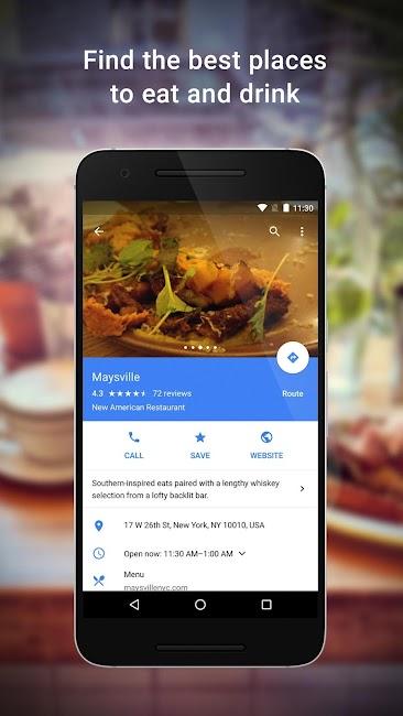 #4. Maps - Navigation & Transit (Android)