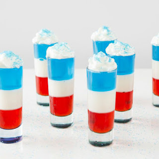 Get Ready for the 4th of July With Red, White and Blue Jello Shots!.