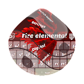 Fire elemental GO Keyboard