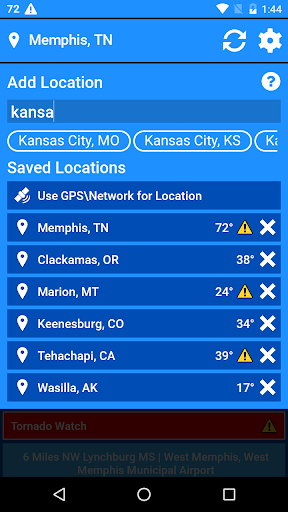 National Weather Service NOW  screenshots 6