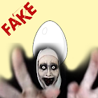 Egg call Valak scary prank icon