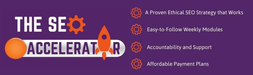 Information on The SEO Accelerator
