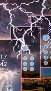 Glaring thunder lighting theme - náhled