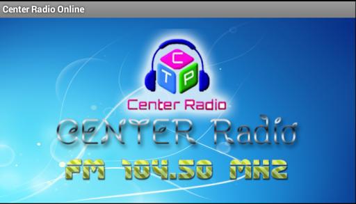 Center Radio For Tablet
