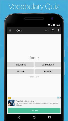 Spanish English Dictionary screenshot 5