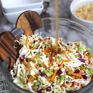 Crunchy Asian Cabbage Salad.