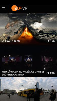 ZDF VR - screenshot