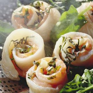 Healthy Fish Wraps.