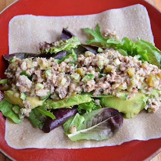 Sardine Salad Wraps {Paleo, Gluten Free, Dairy Free}.