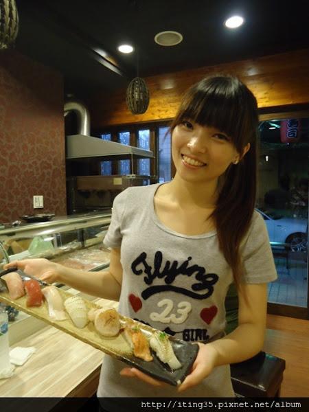 有正妹服務的日本料理~旬采壽司