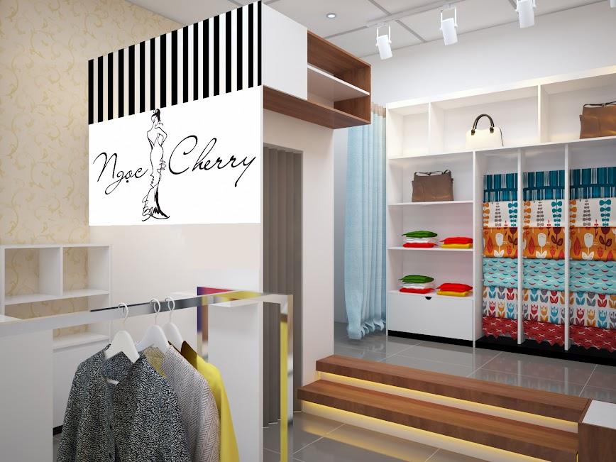 thiết kế shop thời trang diện tích nhỏ thu hút mọi ánh nhìn xung quanh