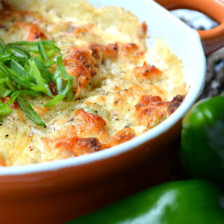 Bacon Poblano Hot Crab Dip