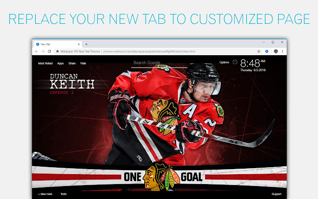 NHL Chicago Blackhawks Backgrounds HD New Tab