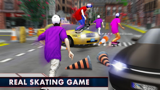 Street Skateboard Girl:Pro Skateboarding Challenge 1.0 screenshots 1