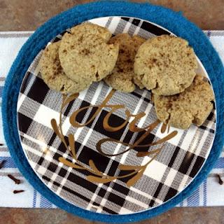 Egg Nog Cookies.