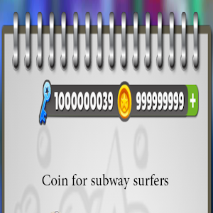 coin for Subway Surfers prank 2 for PC