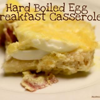 Hard Boiled Egg Breakfast Casserole Recipe