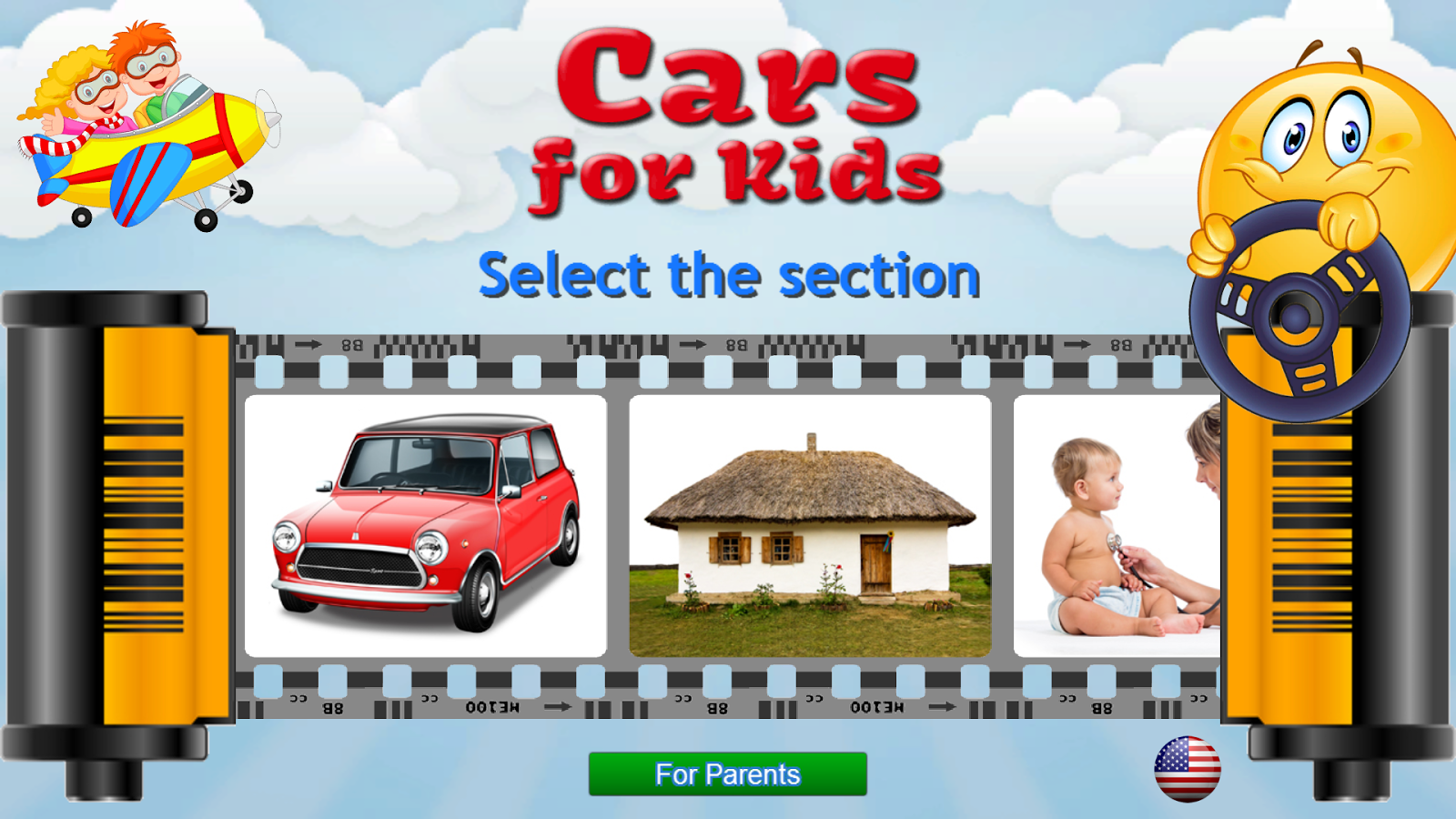 cars for kids learning games screenshot