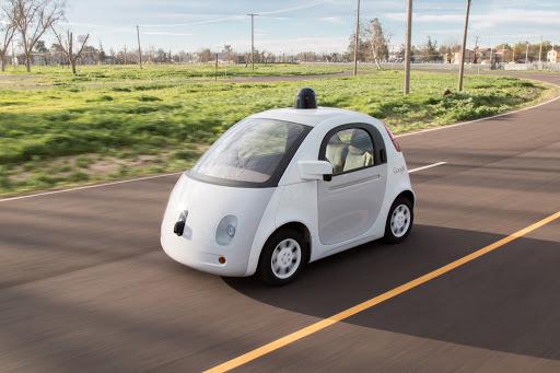 Google X self-driving car.