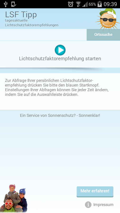 LSF Tipp- screenshot