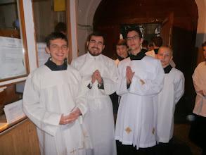 Photo: Seredská výprava prichystaná do katedrály