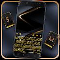 Gold Black Business Keyboard Theme icon