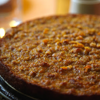 Carrot and Apple Almond Cake with Ginger and Cardamom