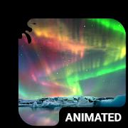 Aurora Light Animated Keyboard + Live Wallpaper