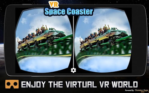 Vr Space Coaster 360 Video Watch Free - náhled