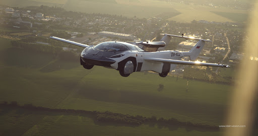 Is it a car that flies or a plane that drives?
