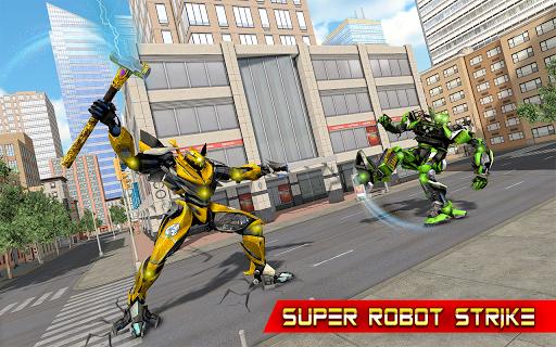 Grand Hammer Robot - Hammer Robot Fighting Game 5 screenshots 6