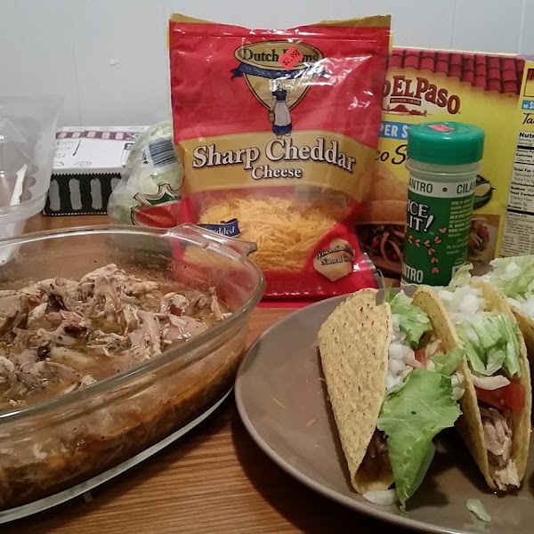 Chicken Tacos, Iris Recipe
