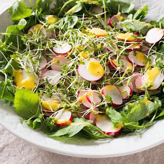 Radish and Cress Salad Recipe