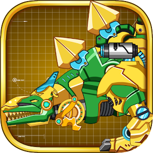Steel Dino Toy : Stegosaurus for PC and MAC