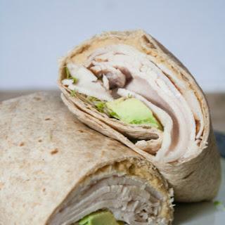 Turkey & Hummus Wraps.