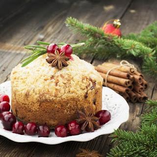 Christmas Morn' Eggnog Muffins.