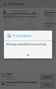 Mobile Print - PrinterShare- gambar mini screenshot