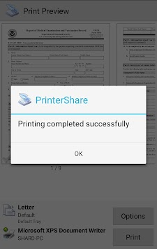 طباعة المتنقلة - تشير Printershare APK screenshot thumbnail 7