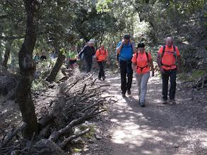 Photo: Primeras rampas de subida hacia Ses Voltes des Galileu